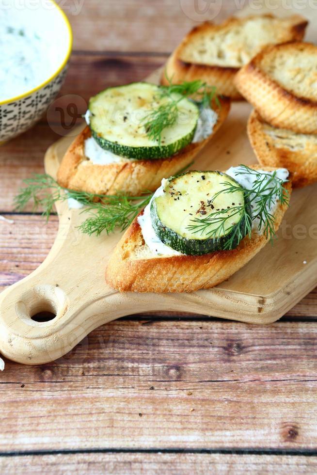 frischer Toast mit Käse foto