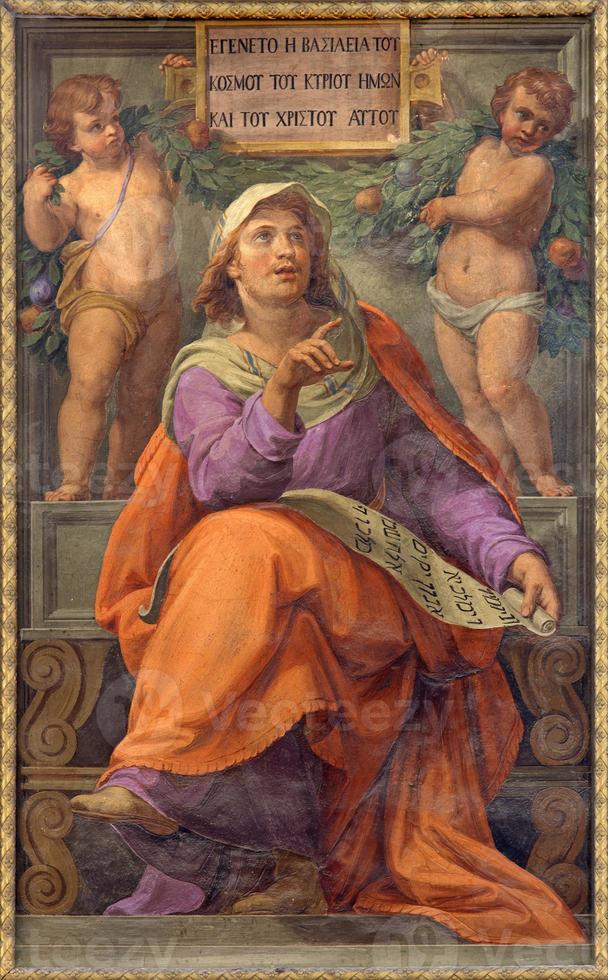 Rom - der Prophet Daniel Fresko foto