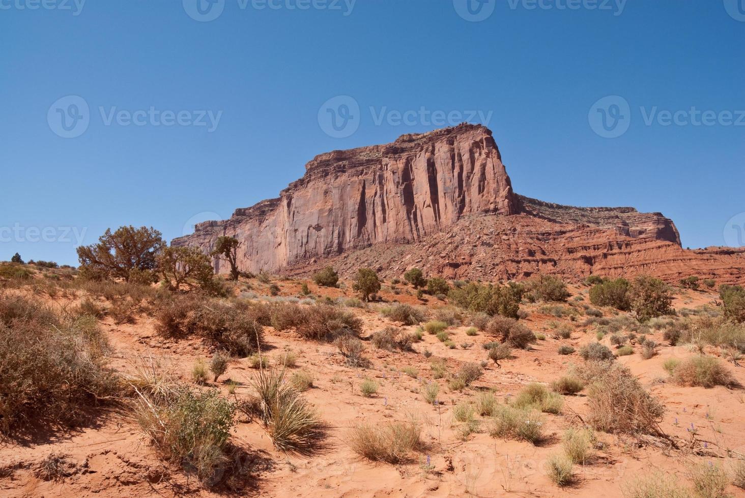 Mitchell Mesa in der Wüste foto