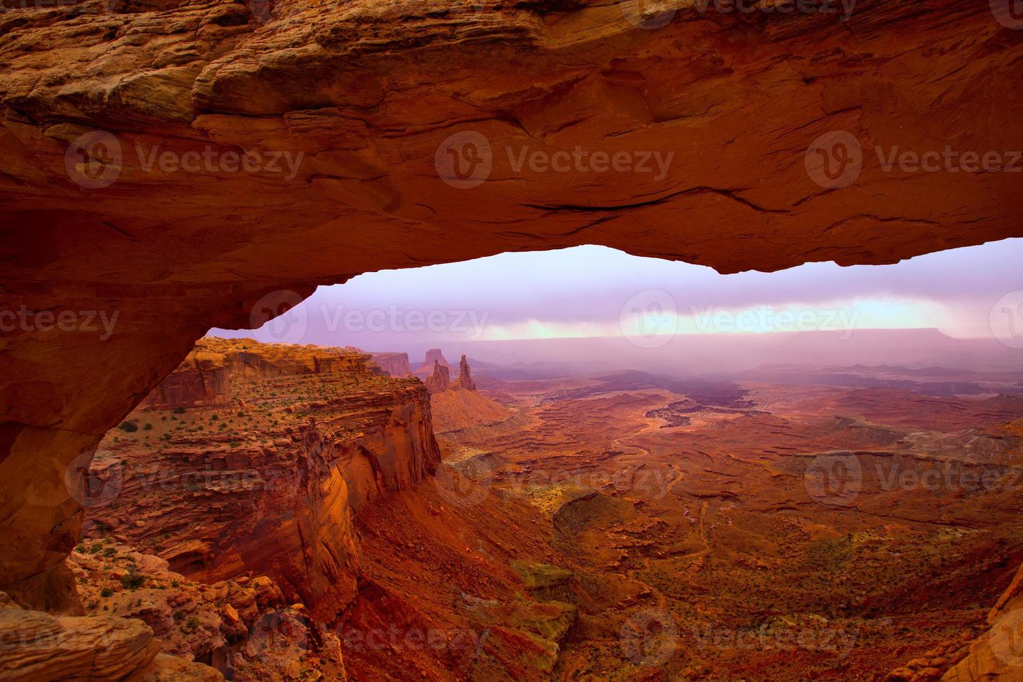 Mesa Arch im Canyonlands National Park Utah USA foto