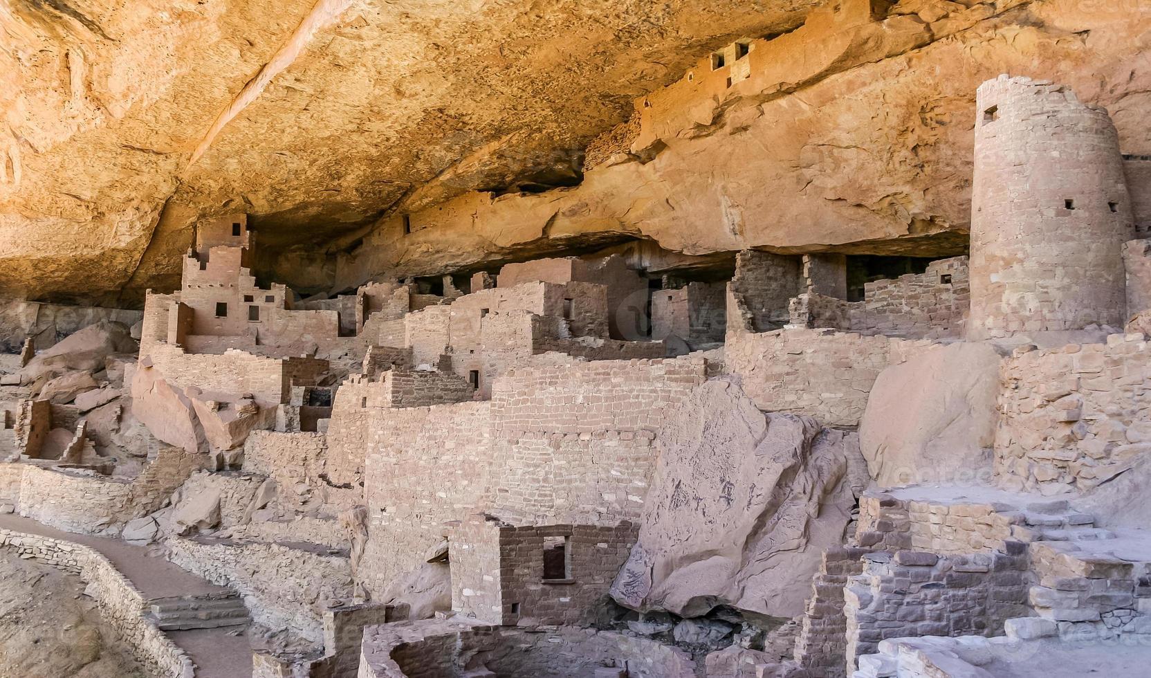 Mesa Verde Nationalpark in Colorado foto