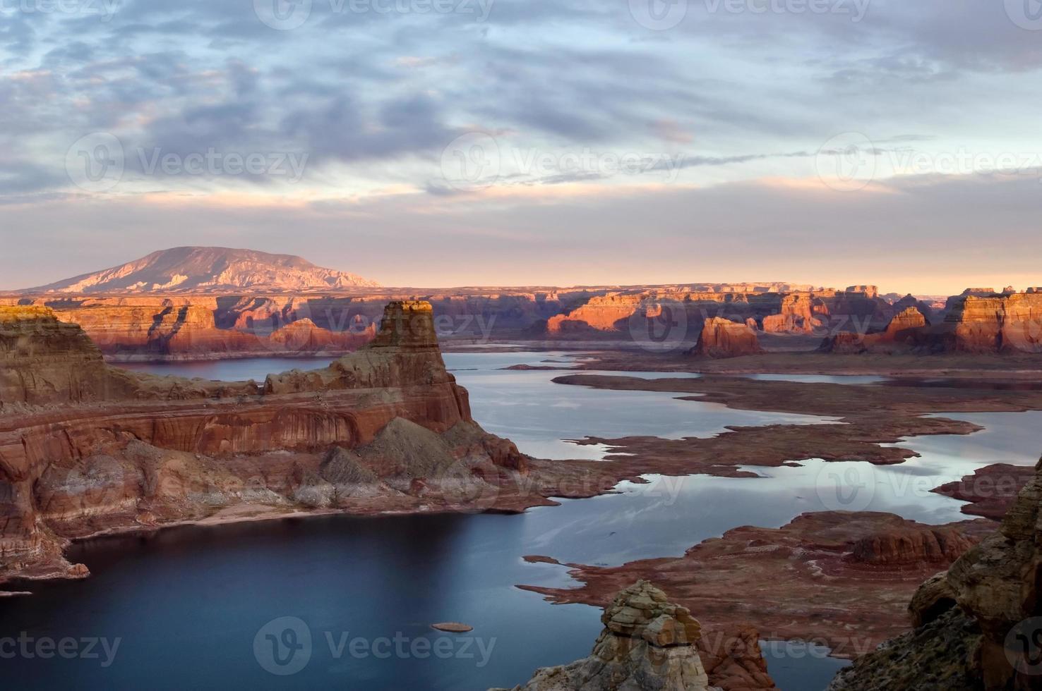 Sonnenuntergang über Lake Powell foto
