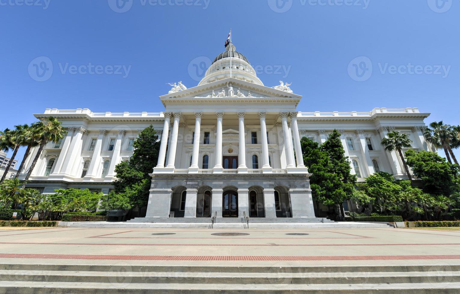 Sacramento Capitol Gebäude, Kalifornien foto