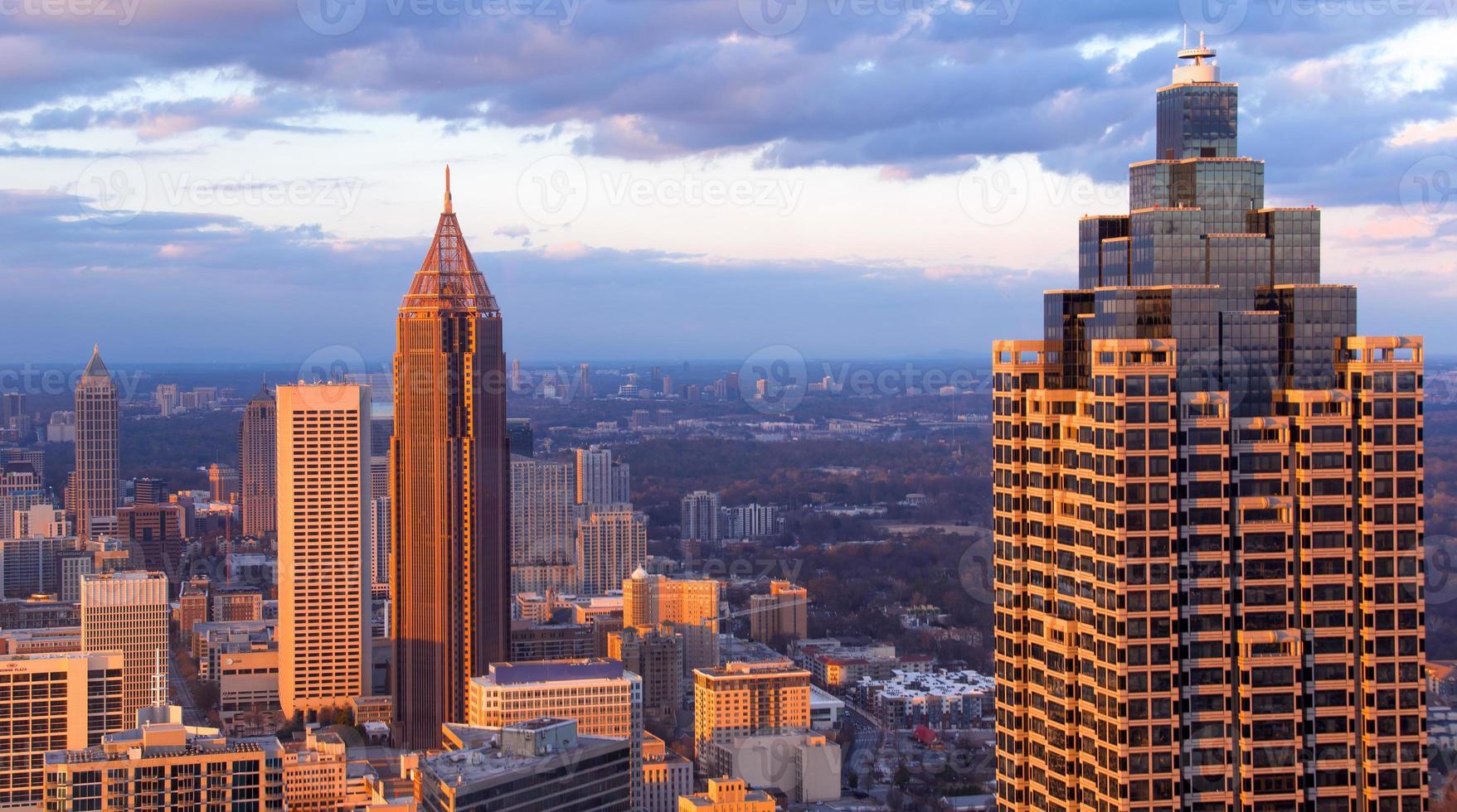 Gruppe von Gebäuden in Atlanta foto