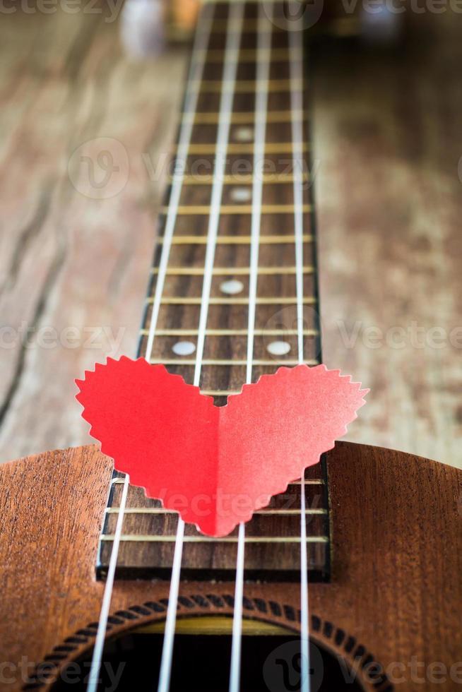 Gitarrenliebhaber foto