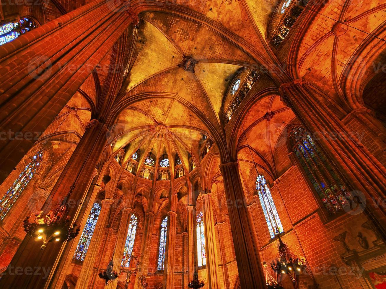 Kathedrale in Barcelona foto