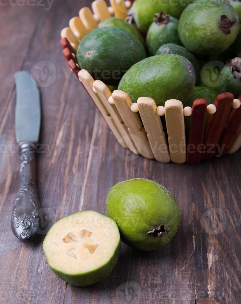 Feijoa Früchte foto