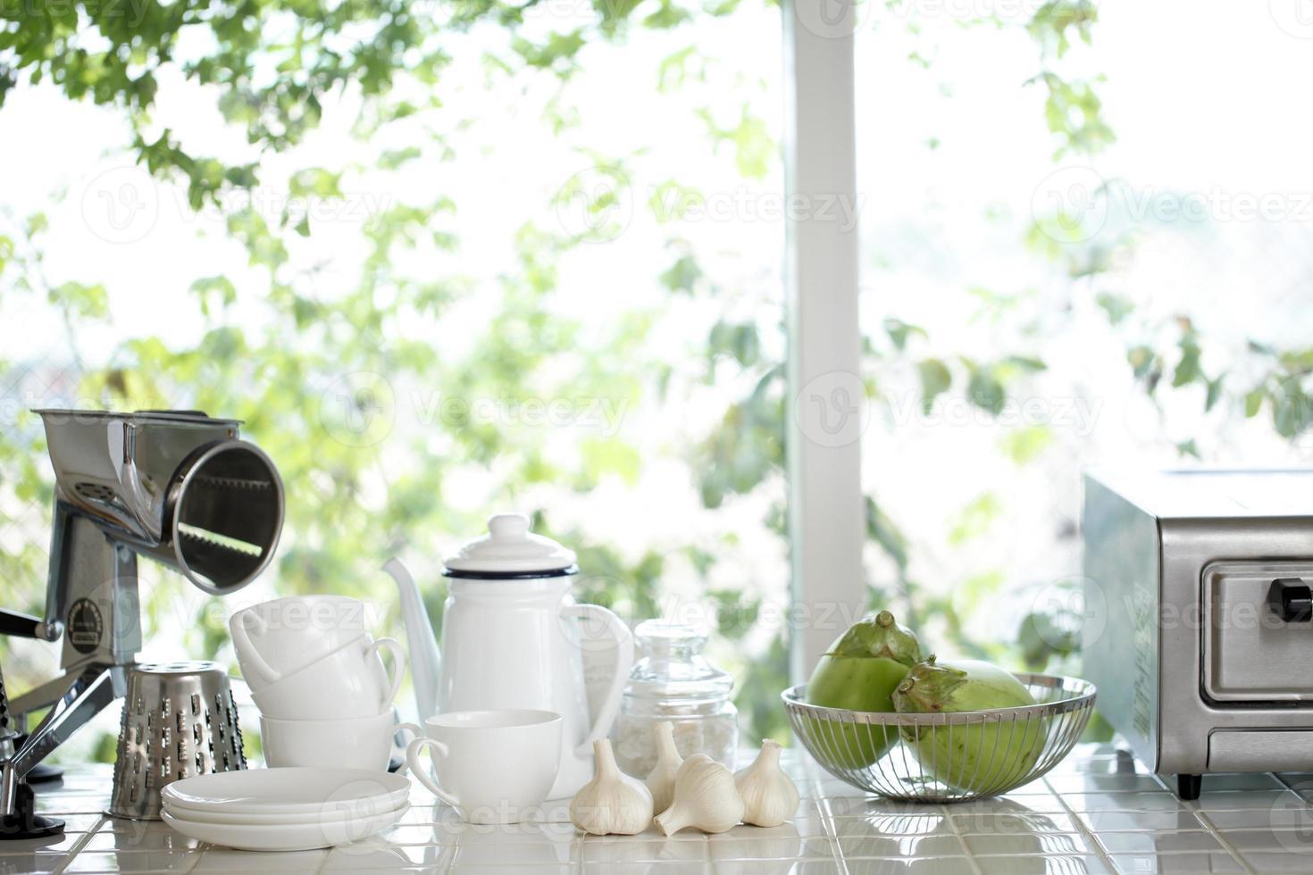 Küche am Morgen foto