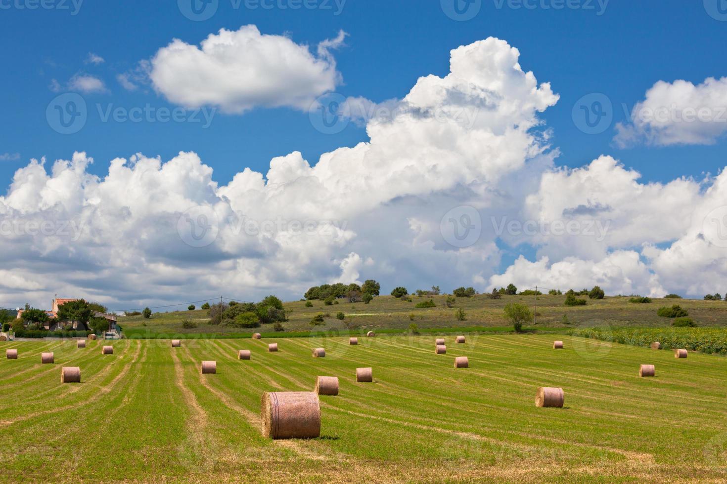 ländliche Landschaft, Frankreich foto