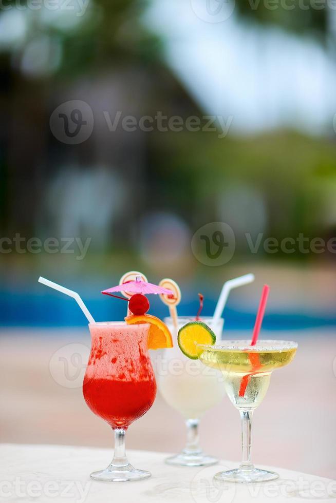 exotische Cocktails foto