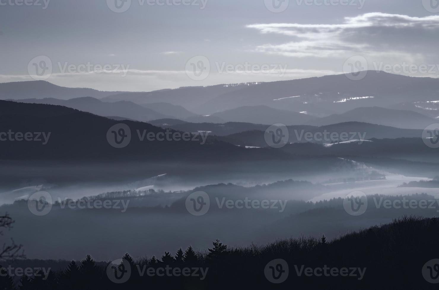 slowakischer Winter foto