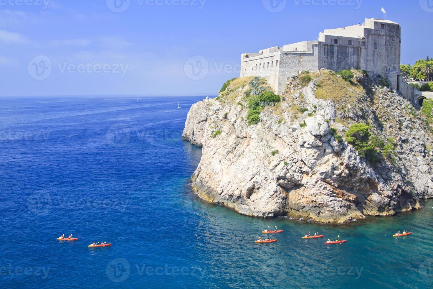 Kroatien, Dubrovnik foto