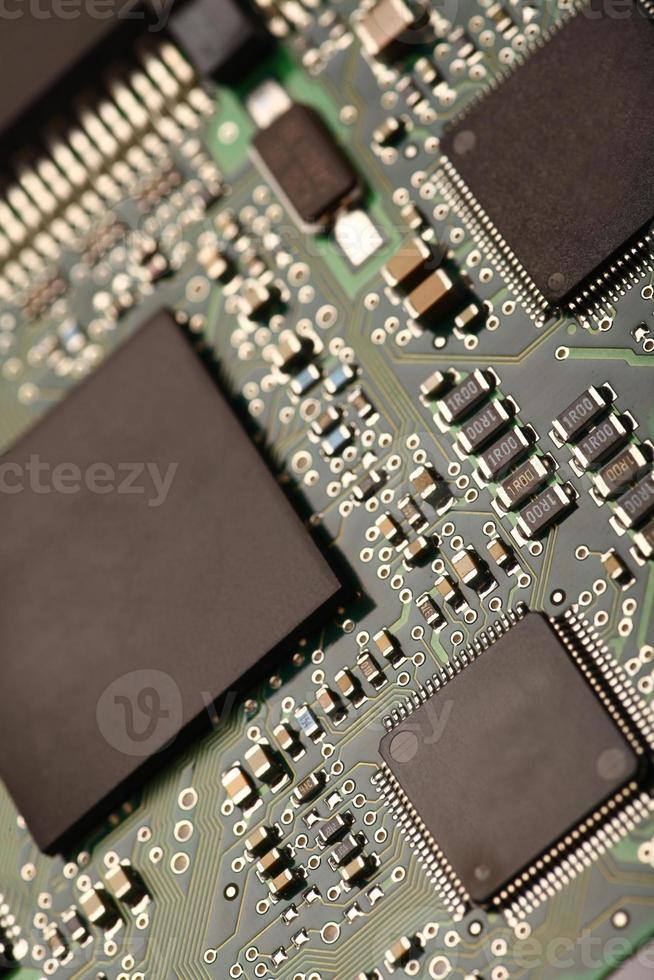 elektronische Mikroschaltung foto