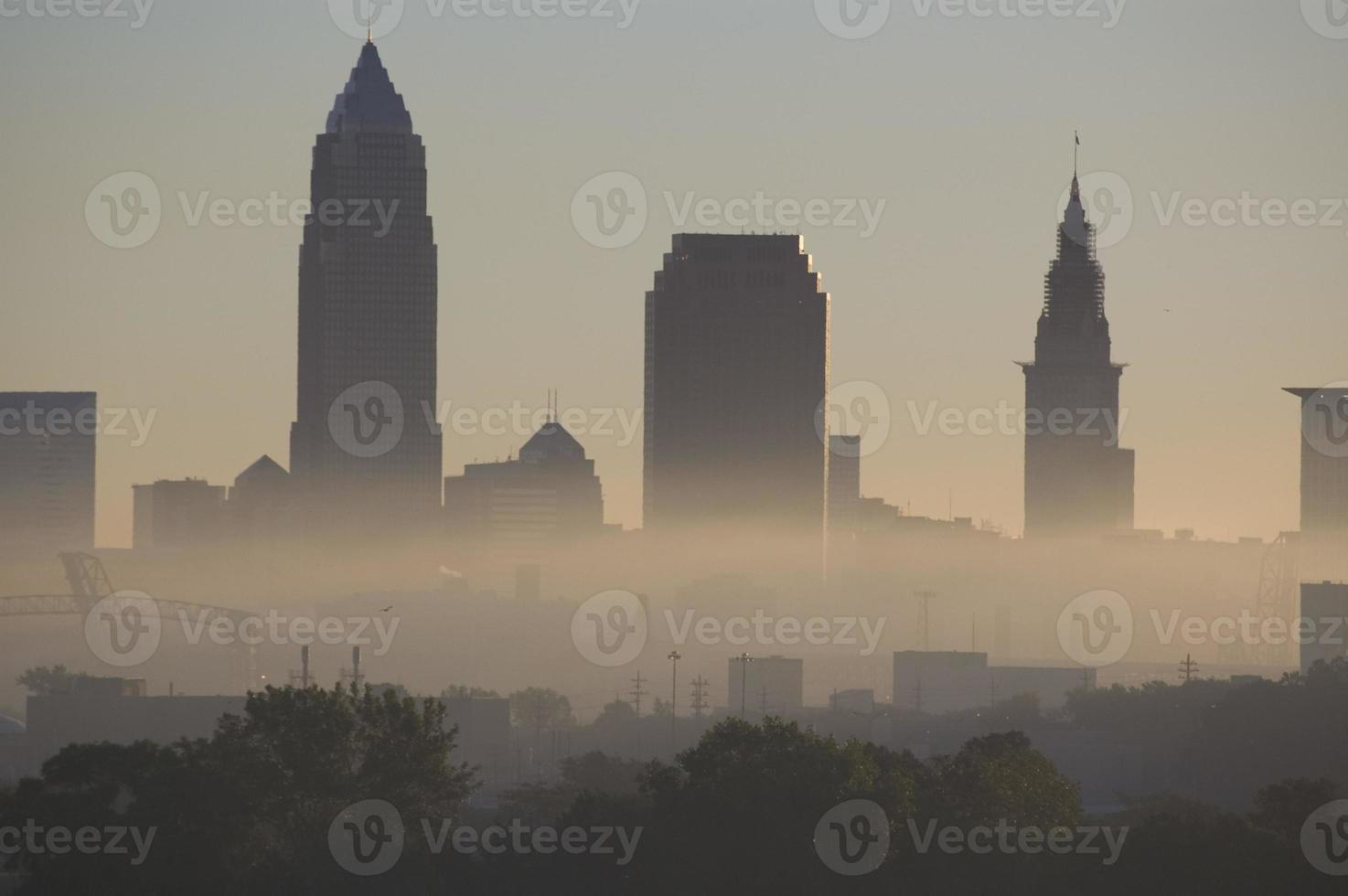 Cleveland Nebel foto