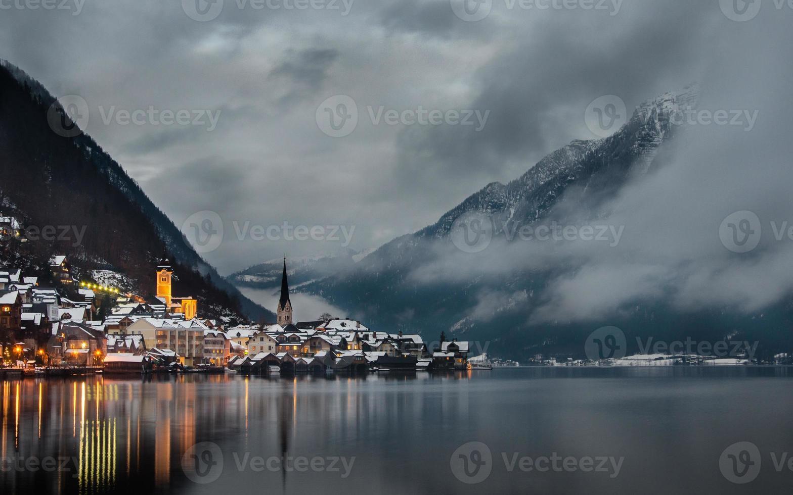 Winter Hallstatt foto