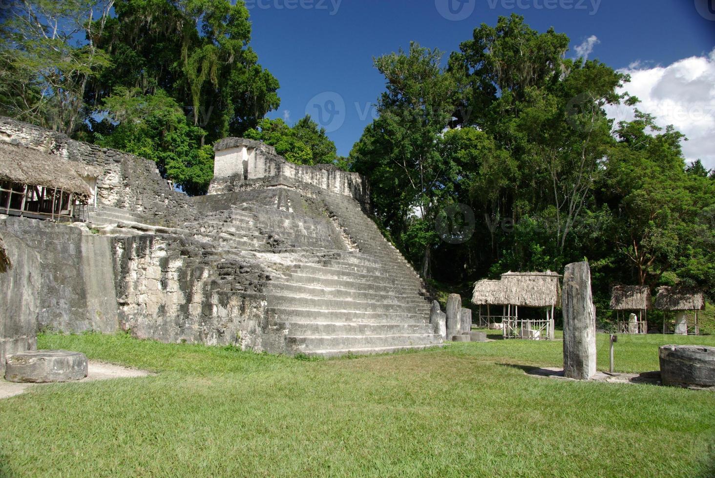 Maya-Ruinen in Guatemala foto