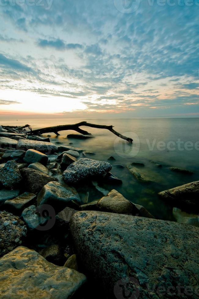 Sunrise Lake Michigan foto