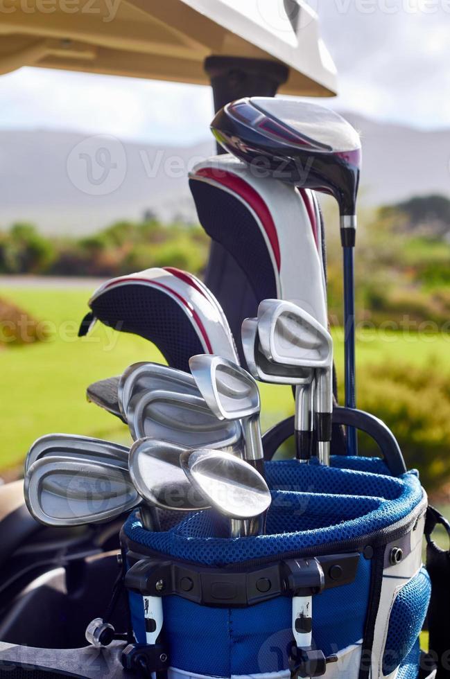 Golfclubs foto