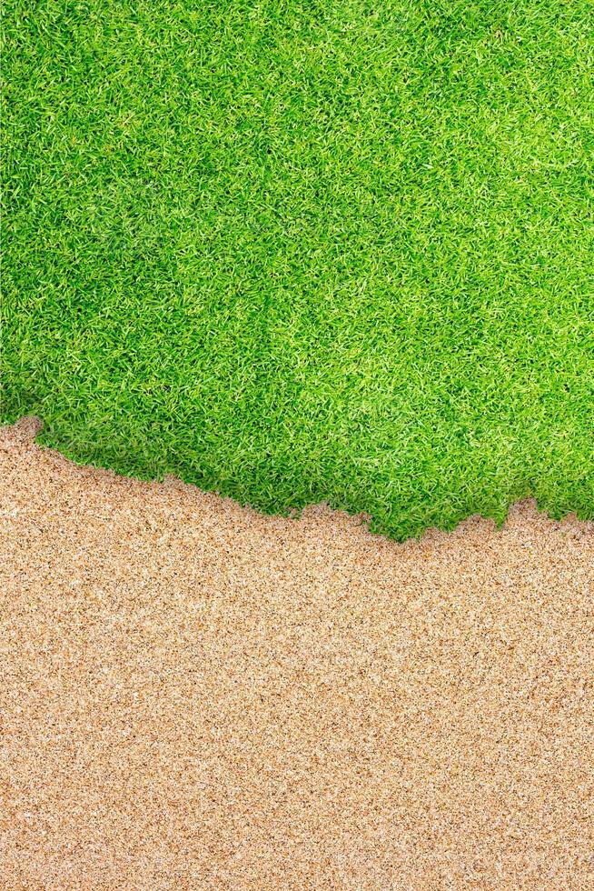Golfplatz Rasen Hintergrund foto