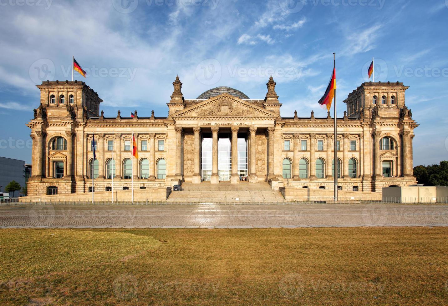 reichstag - berlin, deutschland foto