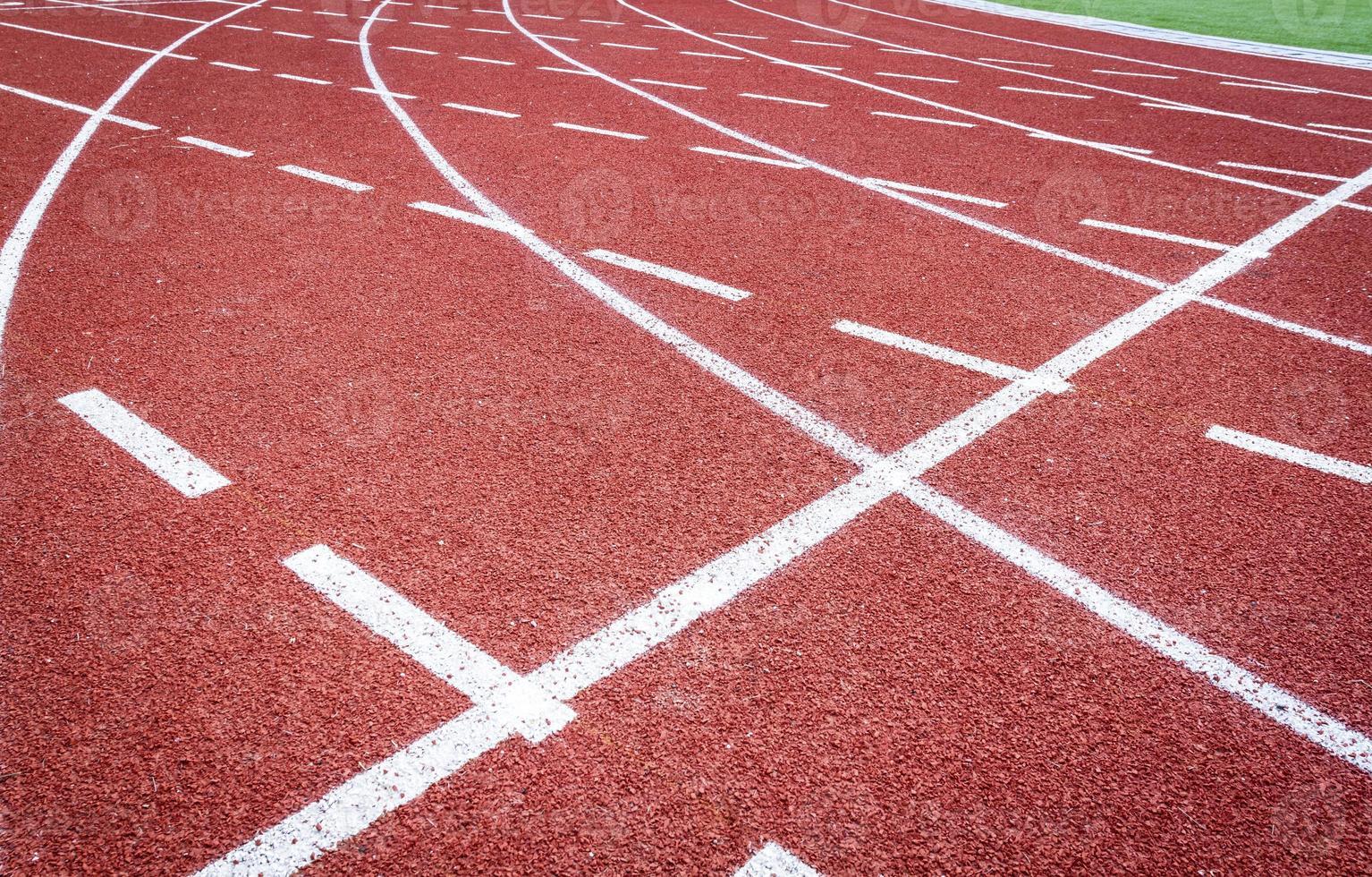 Athletische Spur foto