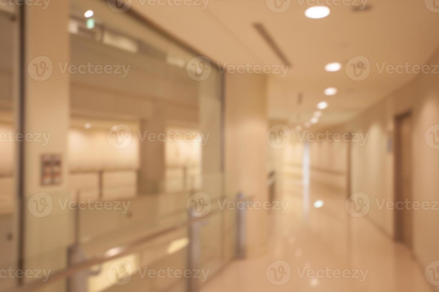 abstrakter Hintergrund des Büroinnenraums foto