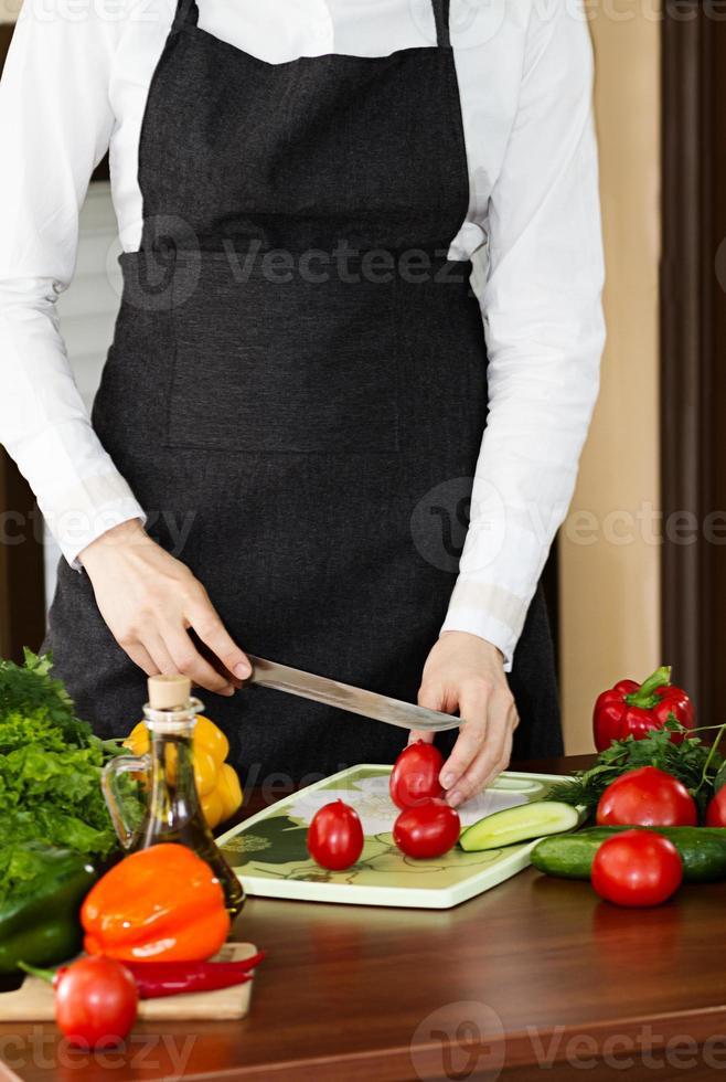 Gemüse, Kochen foto