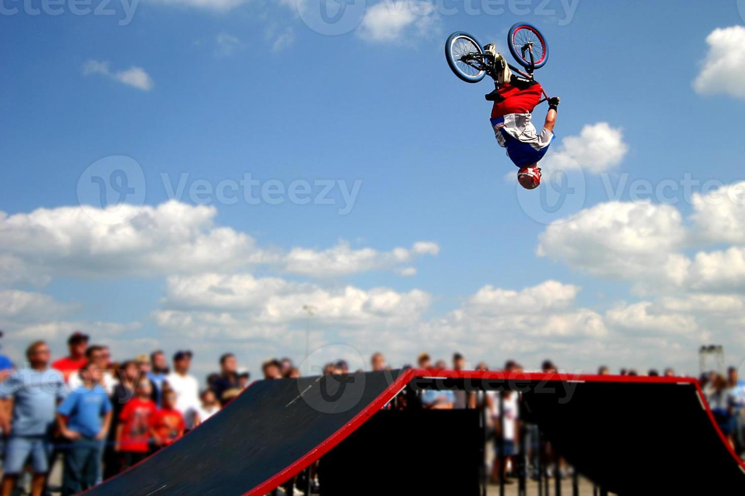 Luft dort oben foto