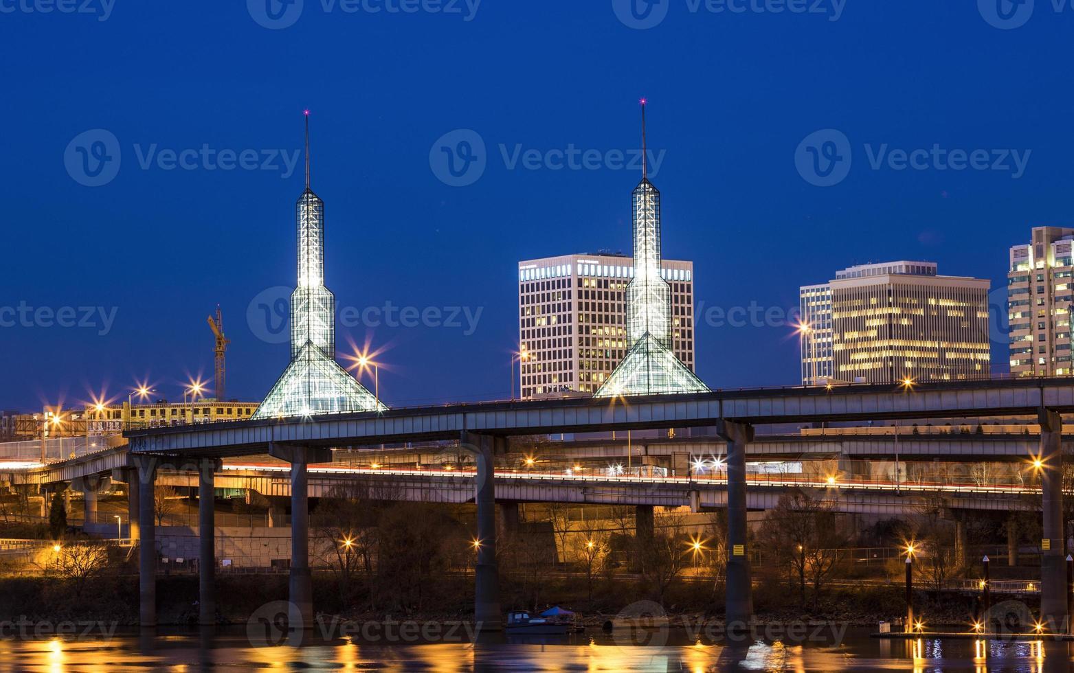 Portland Lichter foto