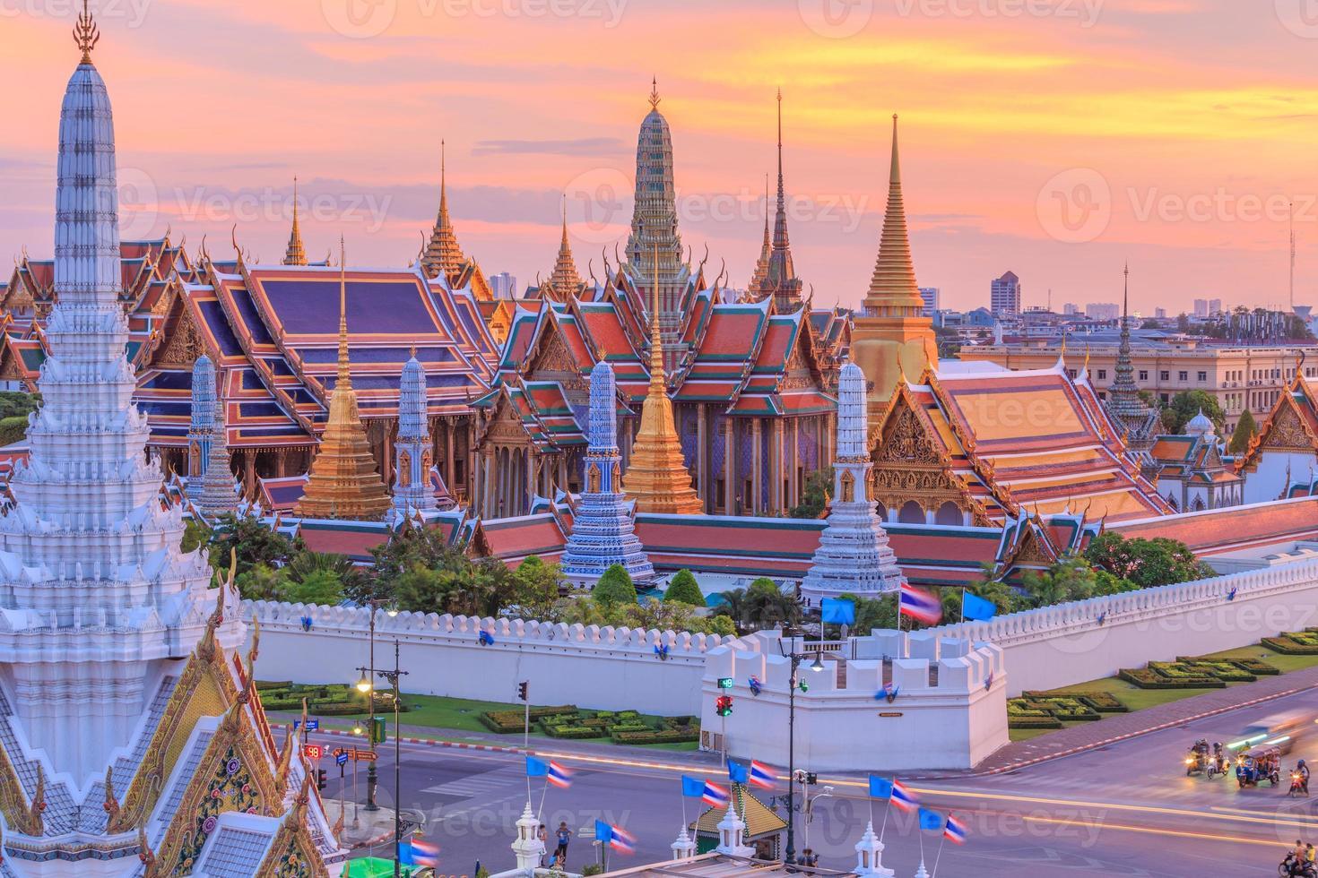 Tempel des Smaragds von Buddha oder Wat Phra Kaew foto