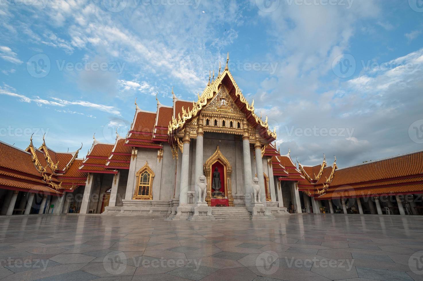 Wat Benchamabophit, Bangkok Thailand foto
