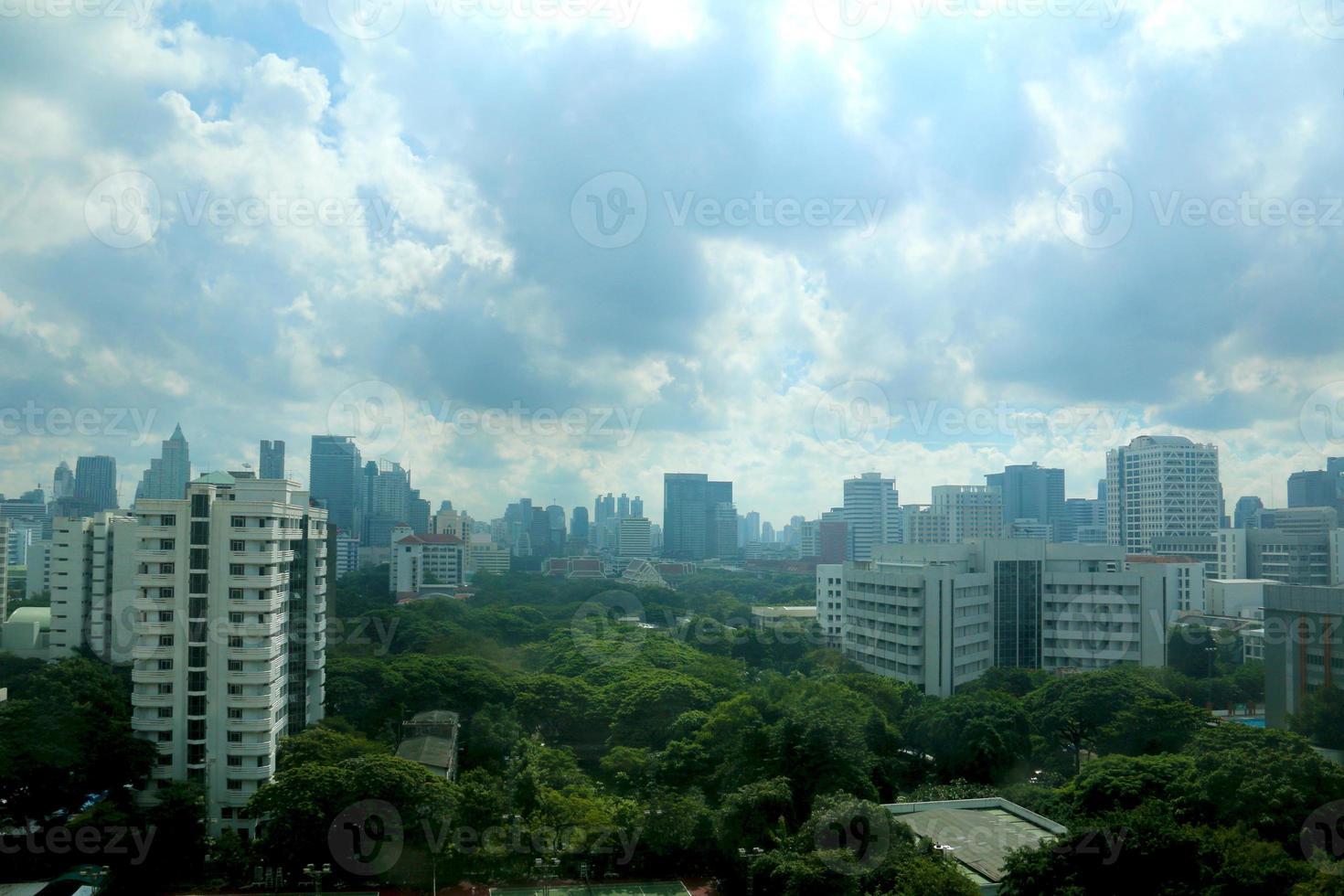 Stadtlandschaft: Bangkok foto