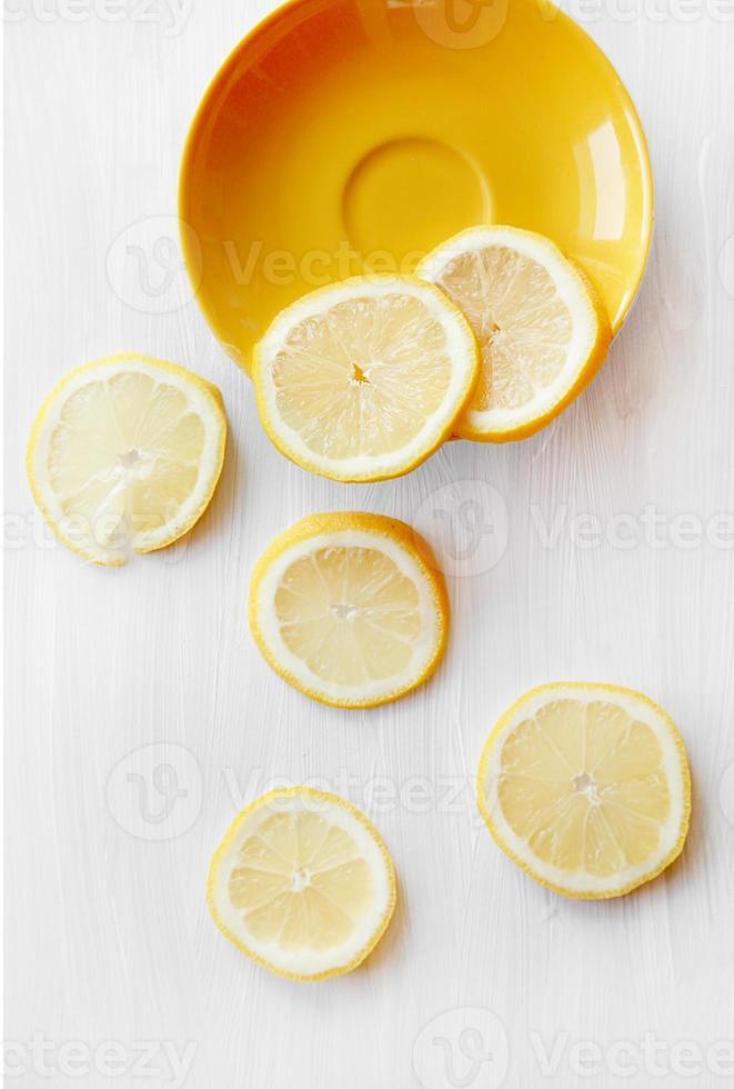 Zitronenscheiben foto