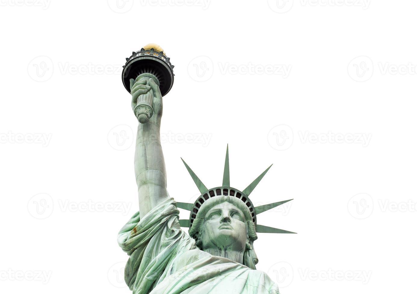 die freiheitsstatue, new york, usa foto