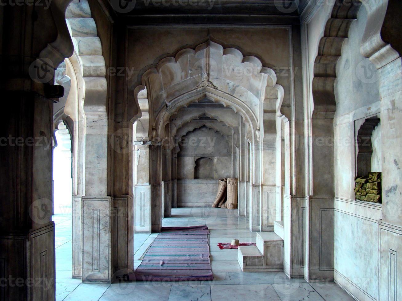 Perlenmoschee in Lahore Fort, Pakistan foto