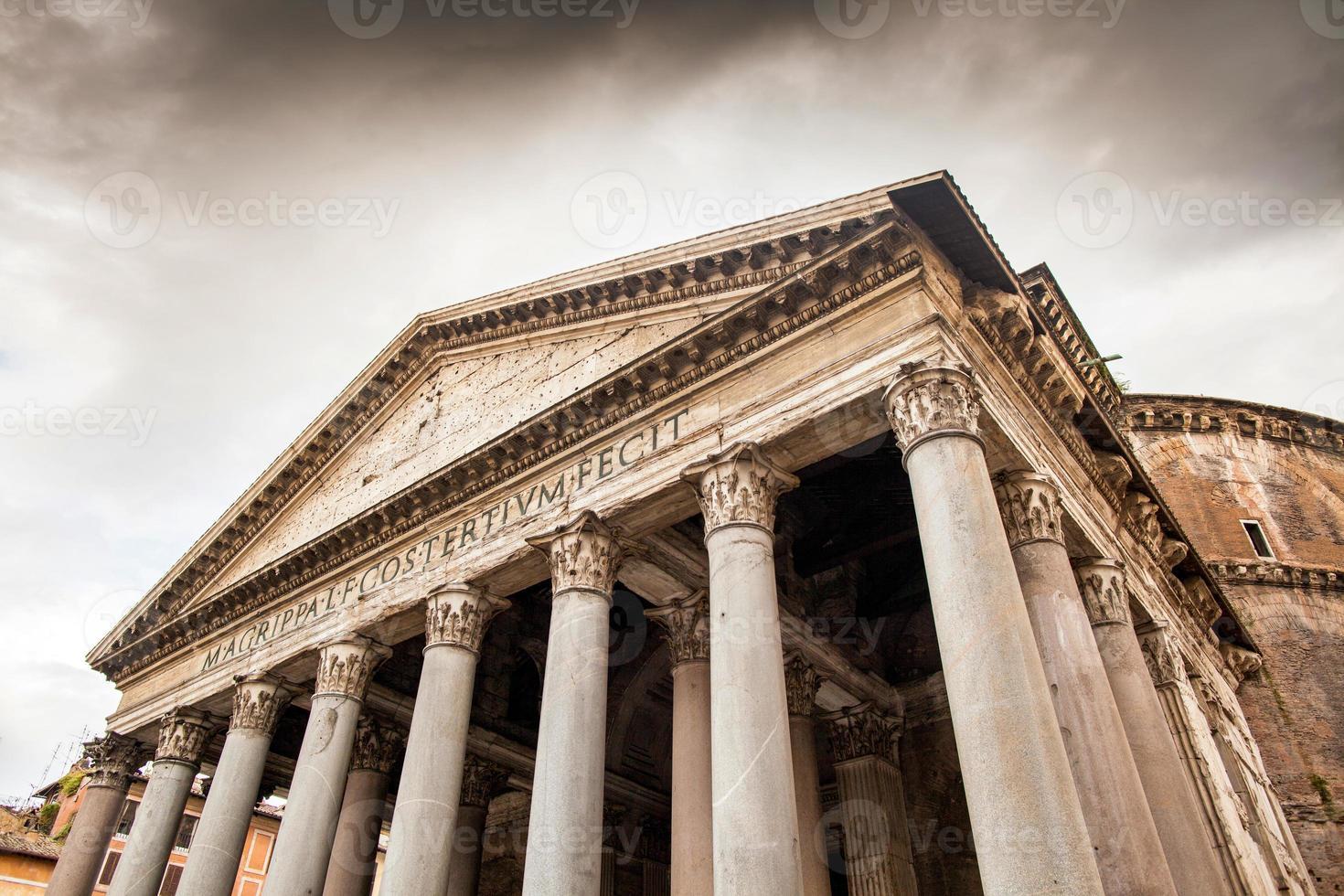 Pantheon, Rom, Italien foto