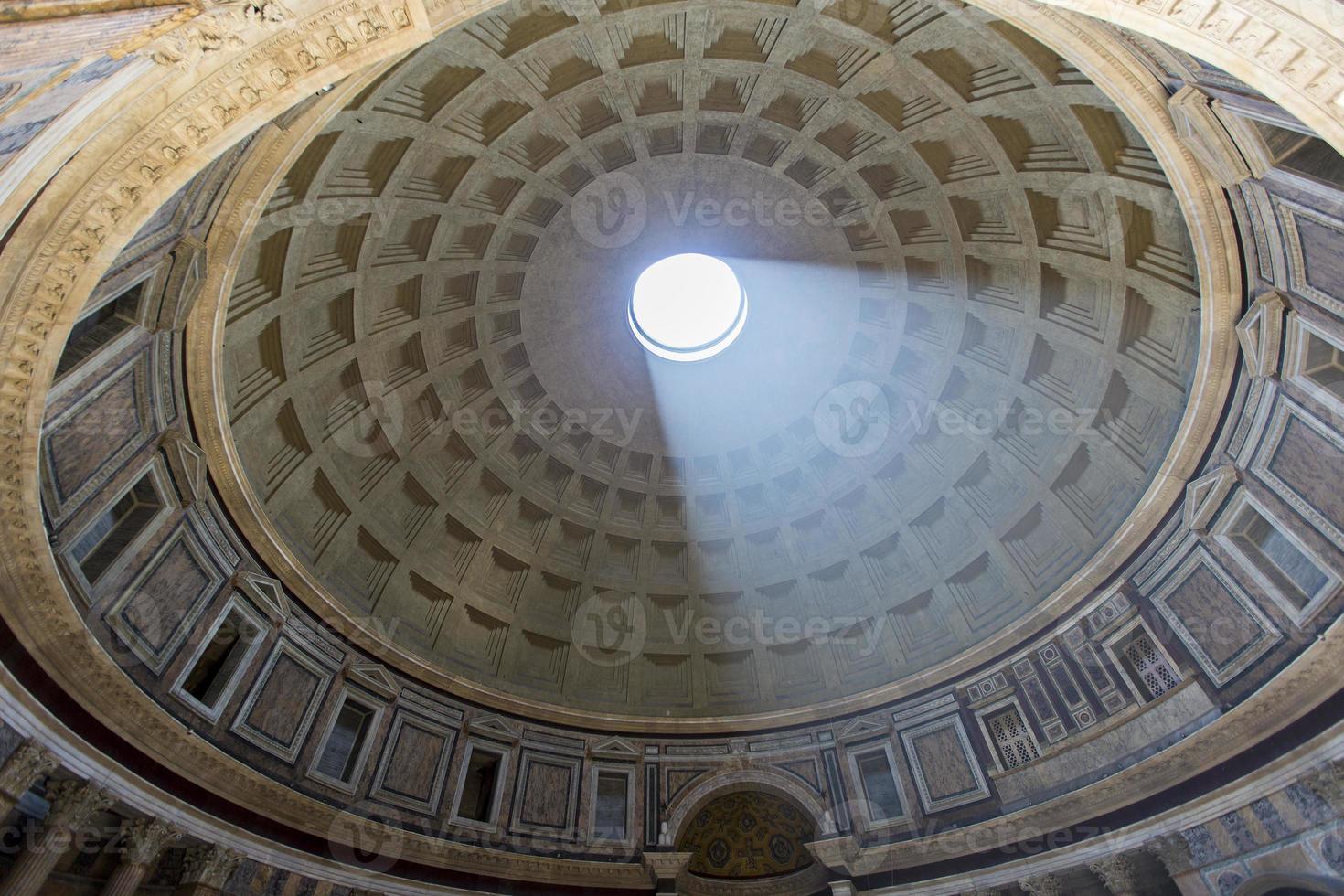 Pantheon in Rom, Italien foto