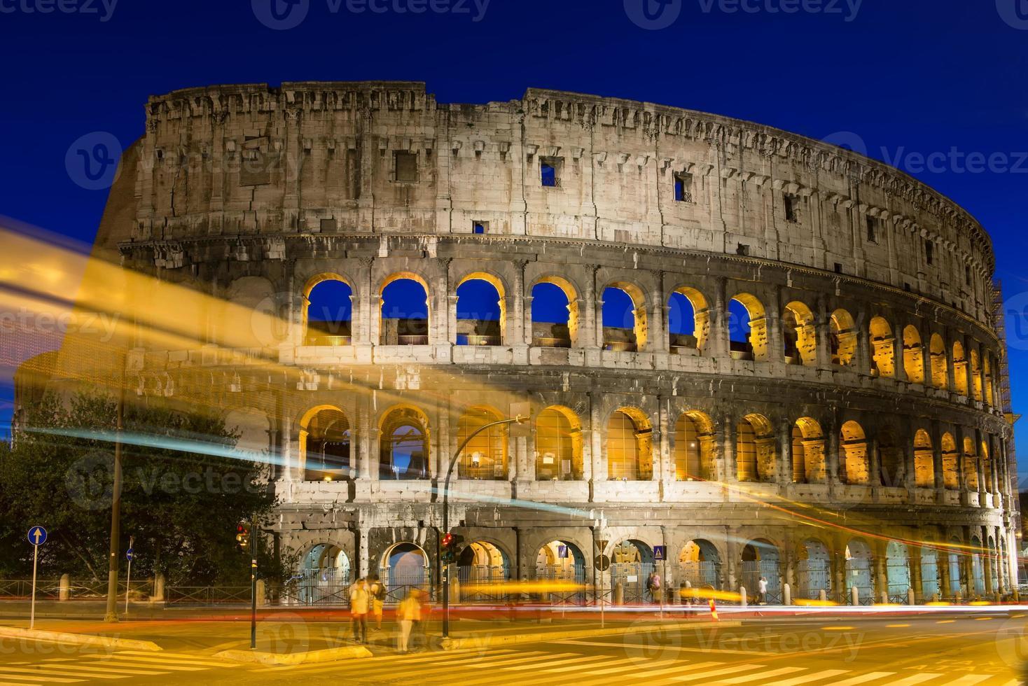 Kolosseum in Rom in Italien foto