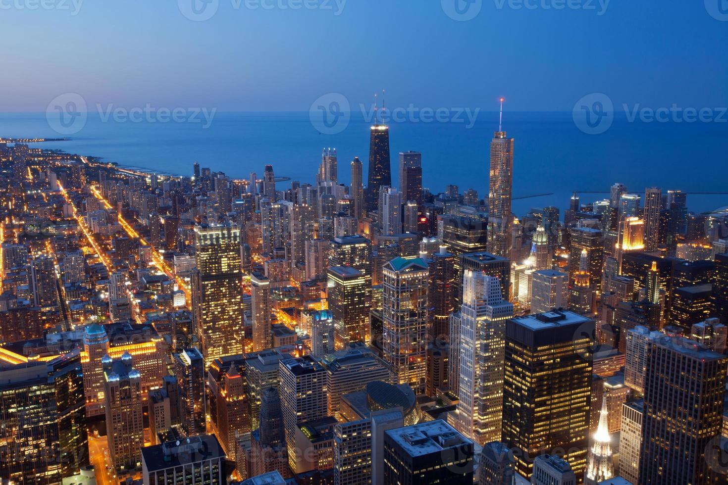 Stadt von Chicago. foto