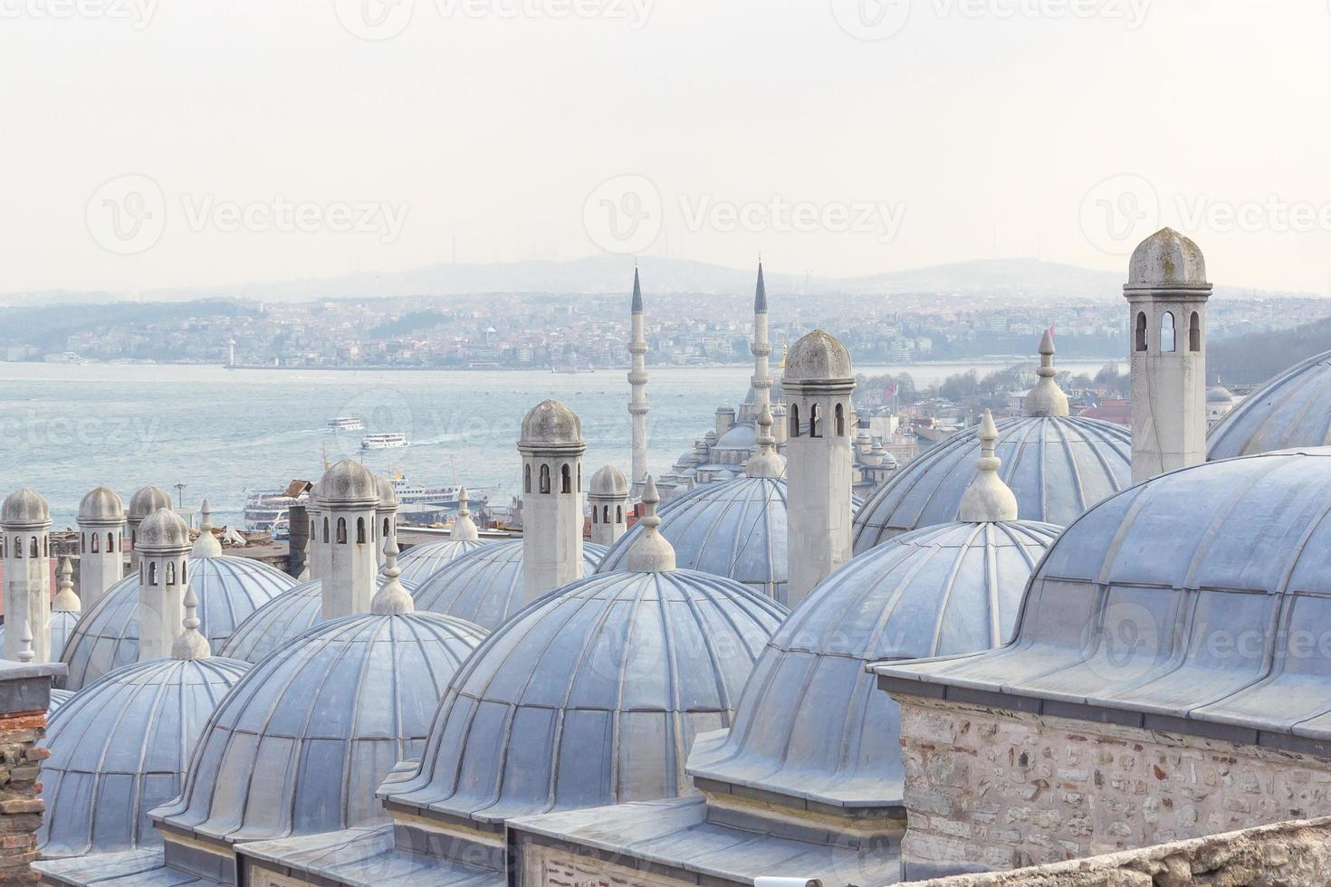Kuppeln in Istanbul foto
