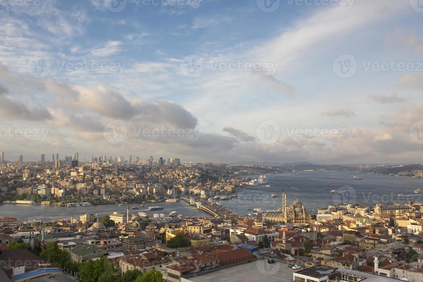 schöne Istanbul Aussicht foto