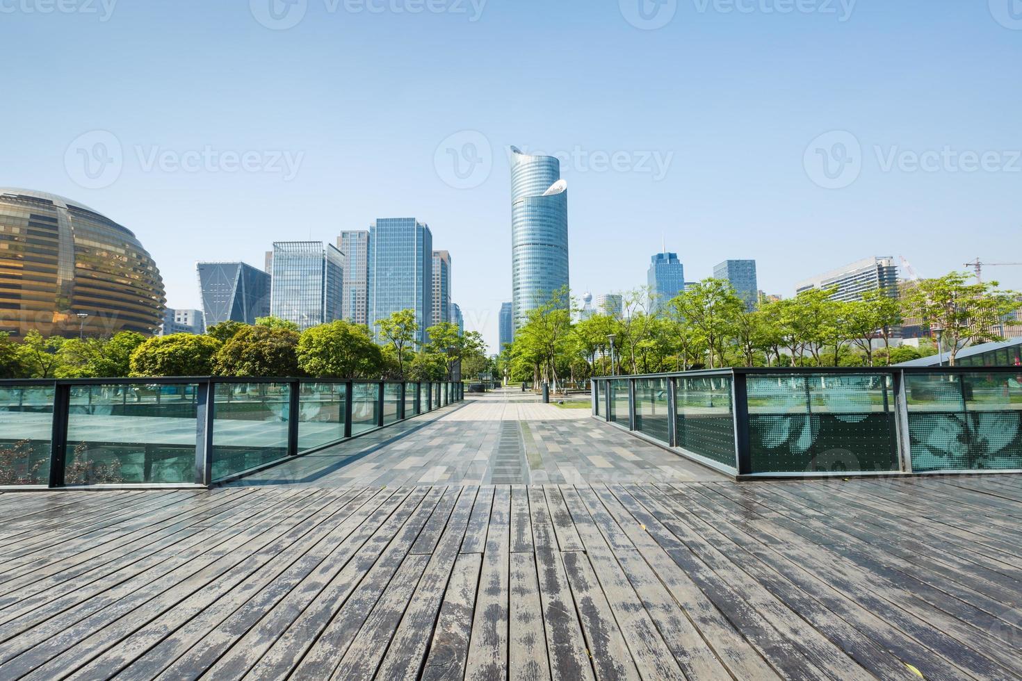 Hangzhou schönes Stadtbild , in China foto