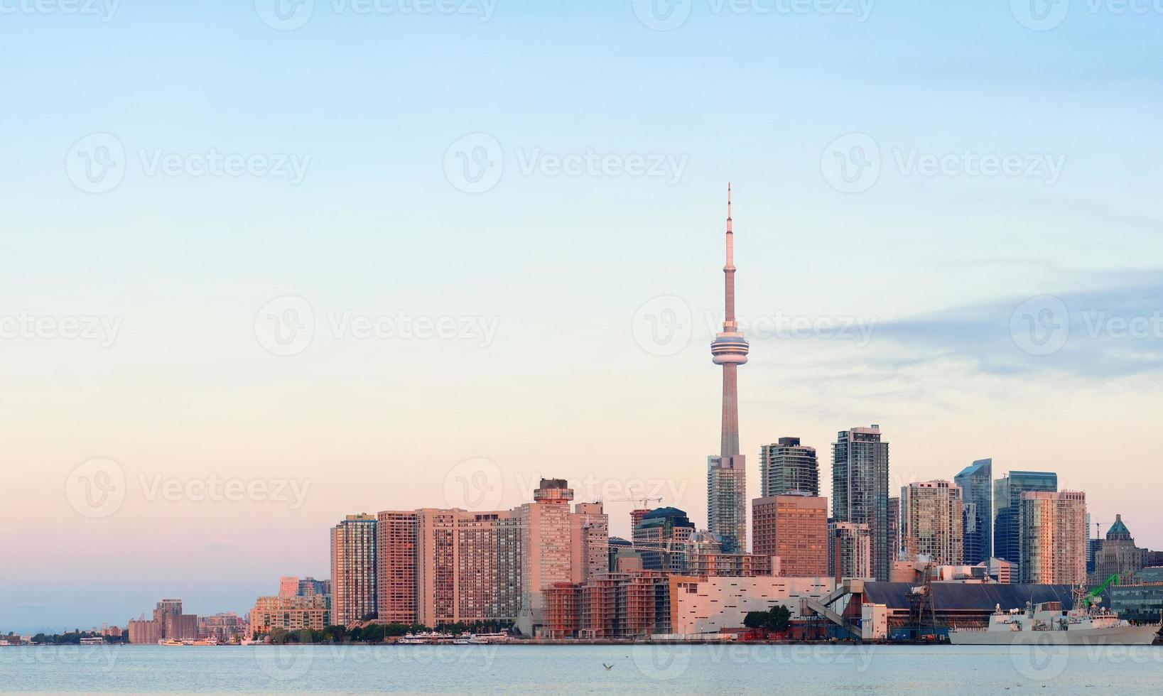 Toronto Sonnenaufgang foto
