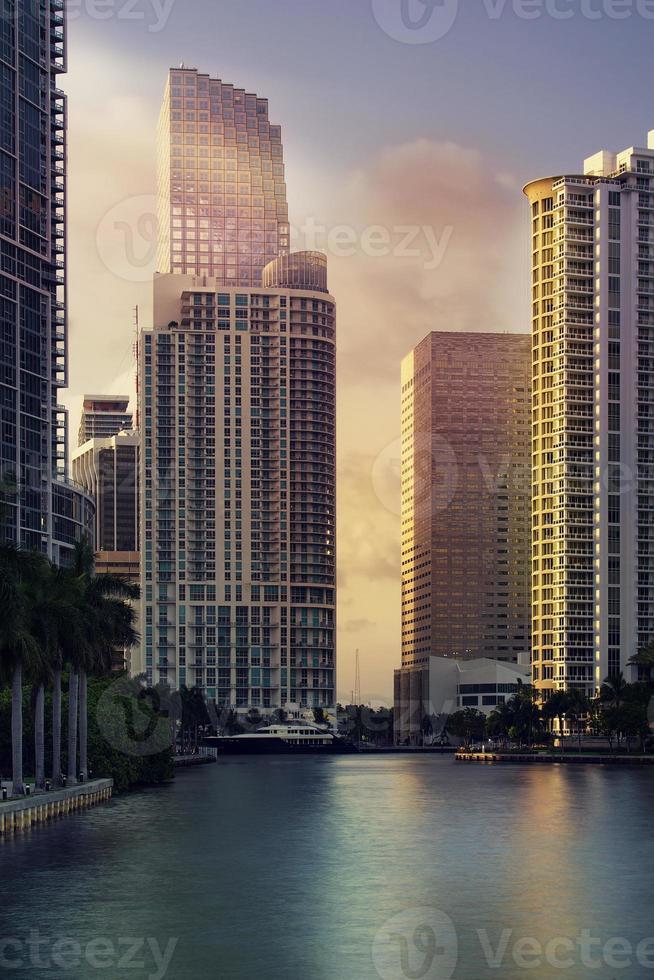Innenstadt von Miami Finanzviertel Brickell foto