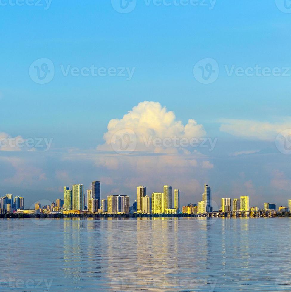 Skyline von Miami foto