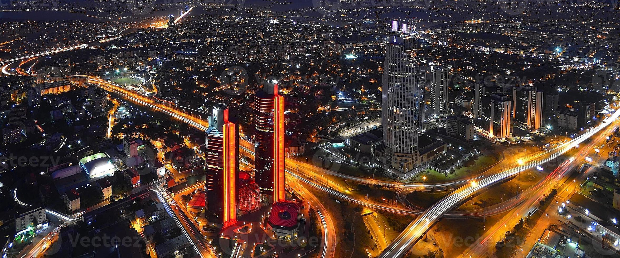Nacht und Istanbul foto