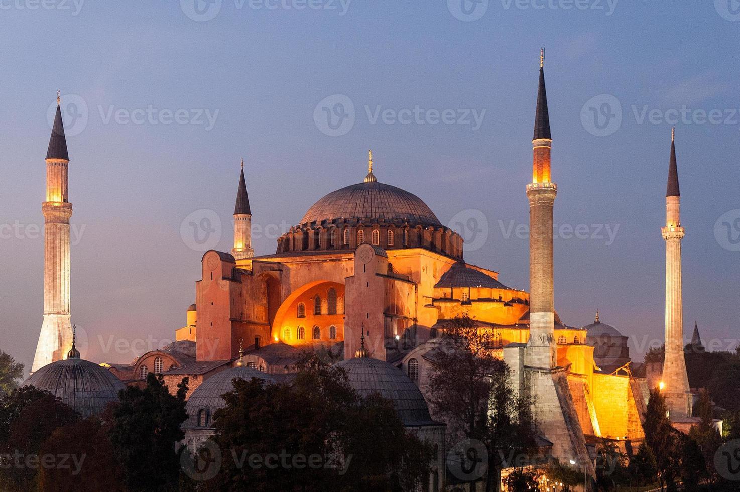 Hagia Sophia in Istanbul foto