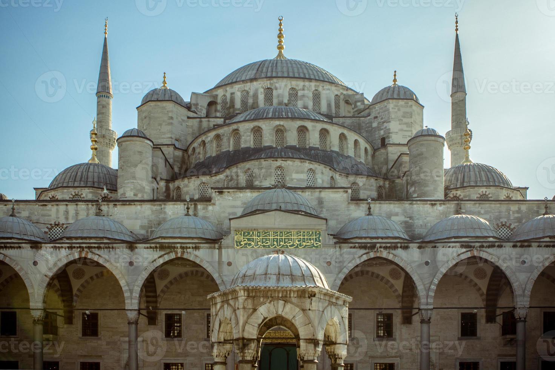 blaue Moschee, Istanbul, Truthahn foto