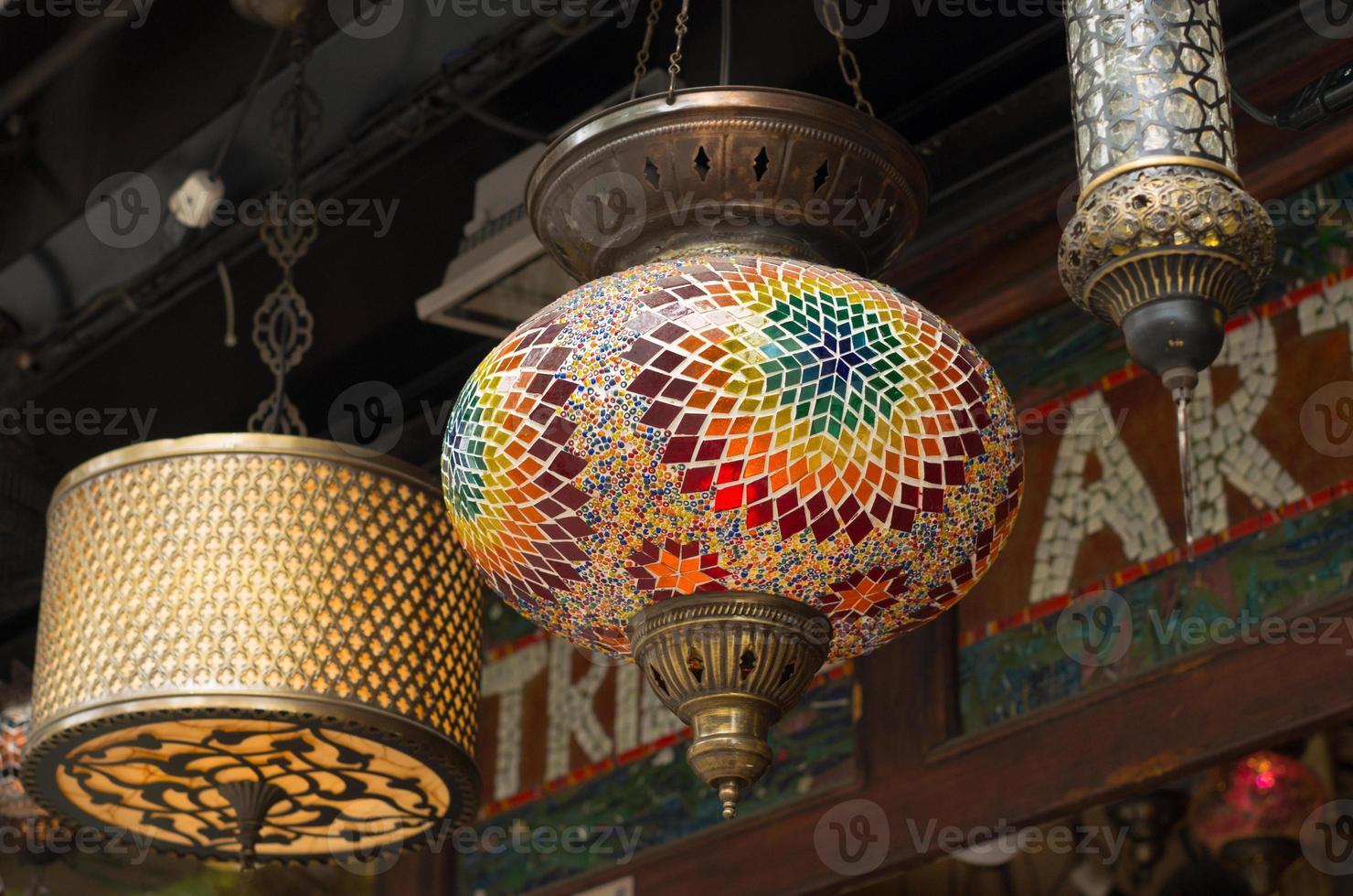 türkische Laternen foto