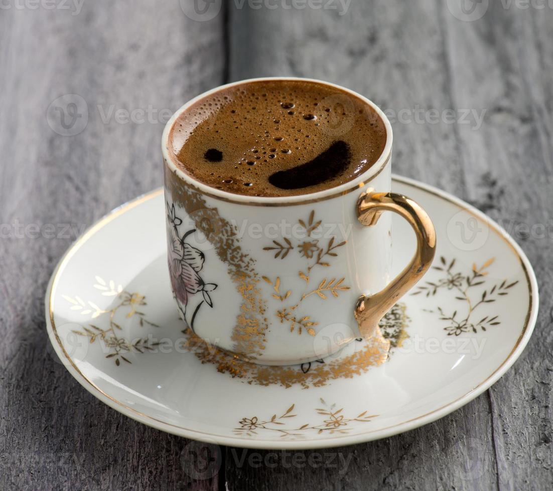 türkischer Kaffee foto